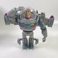 "Toy Story Buzz Lightyear Gray Mega Morpher Transformer 8"" Figure"