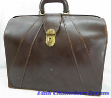 Mid-Century Bosca Old Leather Lawyer Executive Briefcase Doctors Bag HUGO BOSCA