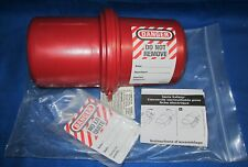 New Listingmaster Lock 488 Electrical Plug Lockout Cover Lock Not Included
