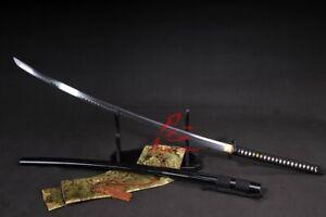 132CM Battle Ready T-10 Steel Clay Tempered Full Tang Blade Nodachi Sword Sharp-
