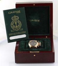 GRAHAM Chronofighter Ref#2CFAR 18K Rose Gold  Wristwatch