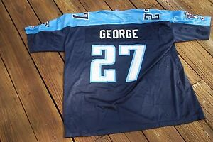 Tennessee Titans Eddie George Adult XL Jersey by Champion
