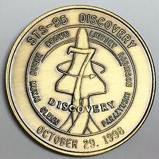 N603      NASA  SPACE  COIN /  MEDAL,     JOHN GLENN'S   2  FLIGHTS