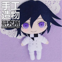 Anime Danganronpa V3 Kokichi Ouma DIY Hanging Plush Doll Toy Keychain Bag Gifts