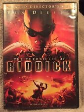 The Chronicles of Riddick (Dvd, 2004, Unrated Directors Cut - Widescreen)