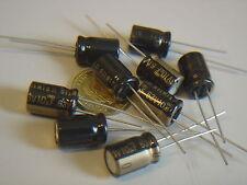 RFS-63V100MG3 16 pcs 10uF 63V ELNA SILMIC II AUDIO Capacitor bl NEU Kondensator