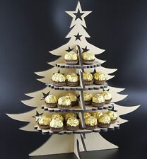 Ferrero Rocher- Christmas Tree - Stand-  MDF Double Sieded  holds 48 sweets
