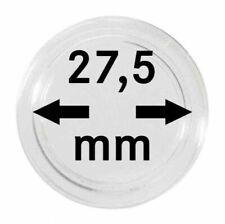 100 Lindner Münzkapseln 27,5 mm Innendurchmesser