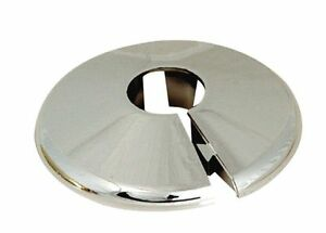 Radiator Pipe Collars White Or Chrome Plastic Covers 10mm, 15mm, 22mm