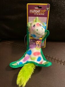 Multipet Unicorn Small Dog Toy Squeaky