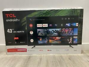 "TCL 43P615K 43"" LED 4K Smart TV with Bluetooth, Amazon Alexa & Google Assistant"