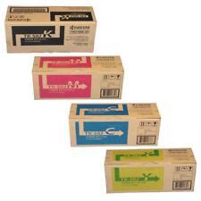 NEW GENUINE Kyocera TK-582 Toner Cartridge Set CMYK Black Cyan Yellow Magenta