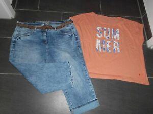 Cecil Scarlett Boyfriend Jeans /Bermuda /Shorts coole Waschungen W36/XXL