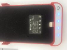 ENERGIE POWER Powerpack powerbank speziell für iphone 5S SE rot