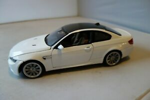 MOTOR MAX 1/18 BMW M3 COUPE - WHITE - MINT/BOXED - L@@K!!