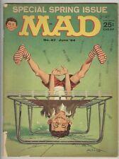 Mad #87 June 1964 G-