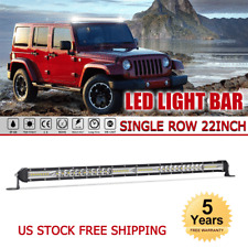 SLIM 22inch 1088W CREE SINGLE ROW LED Light Bar Spot Flood Combo Off road UTE 24