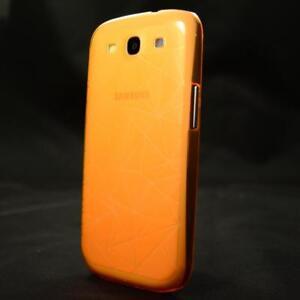 Samsung Galaxy S3 i9300 i9305 Handyhülle Schutzhülle Cover Tasche Hülle Orange