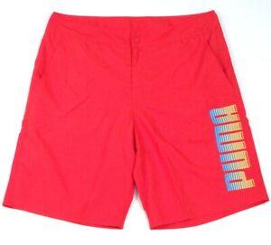 Puma Signature Red Boardshorts Swim Trunks Men's NWT