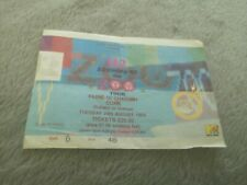 U2 Zooropa tour ticket stub 24th August 1993 Cork