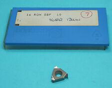 External Carbide Thread Insert 16ER 12UN SBF P25