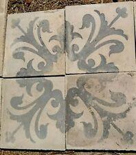 Eleganti cementine antiche Liberty Decò  riggiole mattonelle