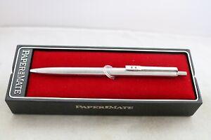 Vintage Paper Mate Profile Flighter Ballpoint Pen, Cased