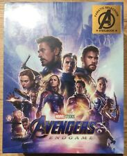 Fanatic Selection (Blufans) Avengers: Endgame Steelbook Blu-Ray One Click NEW!!!