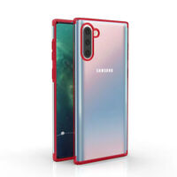 Clear Silicone Case for Samsung Galaxy Note 10, Note 10 + Shockproof Protective