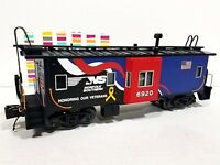 MTH 20-91594 Norfolk Southern Veterans Bay Window Caboose 1:48 scale