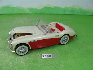 vintage revell 1959 built model kit car 1/25 austin healey 100 six 2190