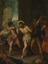 """perfect 24x36 oil painting handpainted on canvas""""Flagellation of Christ"""" NO3603"""