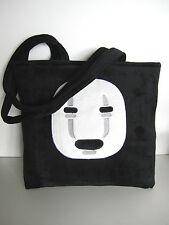 Studio Ghibli Cool Fashion No-Face Kaonashi Plush Shoulder Shopping Bag Gift