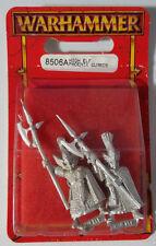 GW Warhammer High Elf Phoenix Guards 8506A 1997 #C - METAL OOP MIB (2 models/pk)