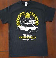 Geo Metro Chevrolet King of MPG T-shirt mens S, M , L , XL , XXL