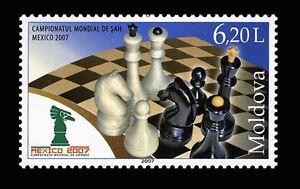 Moldova 2007 Sport World Chess Championship, Mexico MNH stamp