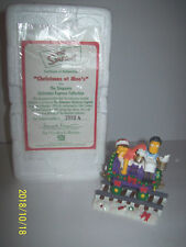 Christmas at moes From The Simpson Christmas Express train  box & coa