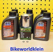 Harley Davidson Sportster XL1200 Motoröl Getriebeöl Ölfilter BelRay 20w50 V-Twin