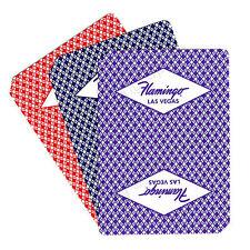 CASINO PLAYING CARDS - FLAMINGO HOTEL LAS VEGAS 2 USED DECKS - FREE SHIPPING *
