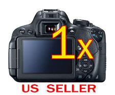 1x Canon EOS 700D Rebel T5i Camera LCD Screen Protector Guard Shield Film