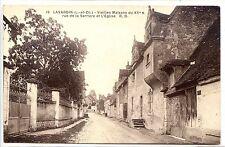 CP 41 LOIR ET CHER - Lavardin - Vieilles Maisons rue de la Barrière et l'Eglise