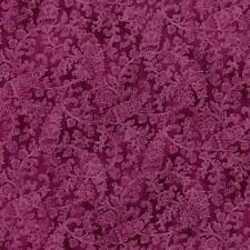 Arabella Rose Vine Leaf Fuchsia Berry Pink Violet Floral Quilt Fabric 1316-1 4C