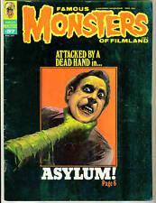 Famous Monsters #97 Asylum! Dracula! Baron Blood! 1973 Fright Flicks!