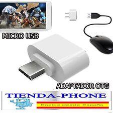 Micro USB a USB Robot 2.0 OTG adaptador convertidor para teléfono Android LG HTC