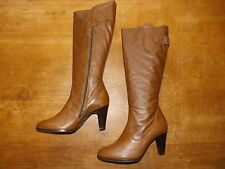 Marks and Spencer Zip Block Heel Knee High Boots for Women