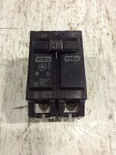 GE GENERAL ELECTRIC THQL21100 NEW CIRCUIT BREAKER 2 POLE  100 AMP 240 VAC