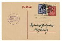 Germany 1920 Uprated Postal Card - Lot 100817