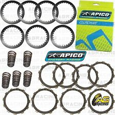 Apico Clutch Kit Steel Friction Plates & Springs For Suzuki RM 125 1997-2001 MX
