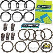 Apico Clutch Kit Steel Friction Plates & Springs For Suzuki RM 125 1997-2001 MX
