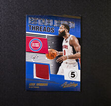 2018-19 Absolute Andre Drummond one of one 1/1 Patch Detroit Pistons Threads